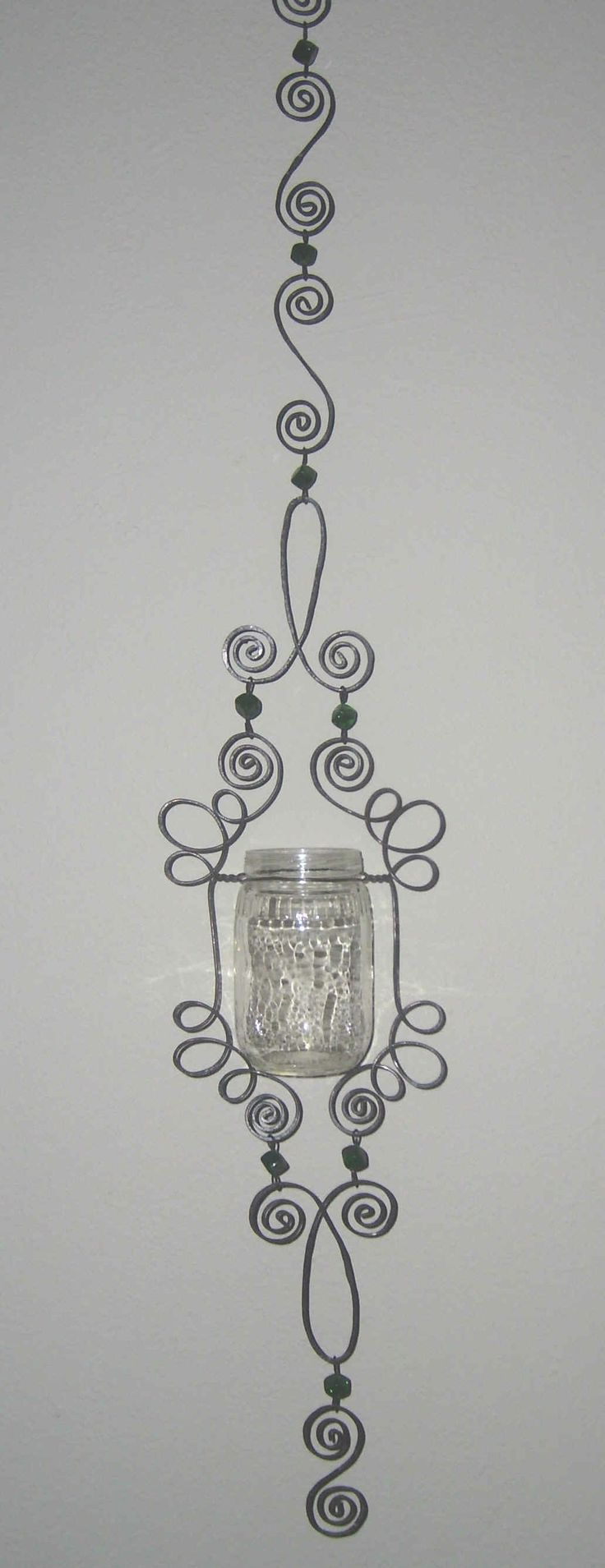 1000 ideas about hanging candle holders on pinterest for Hanging candles diy
