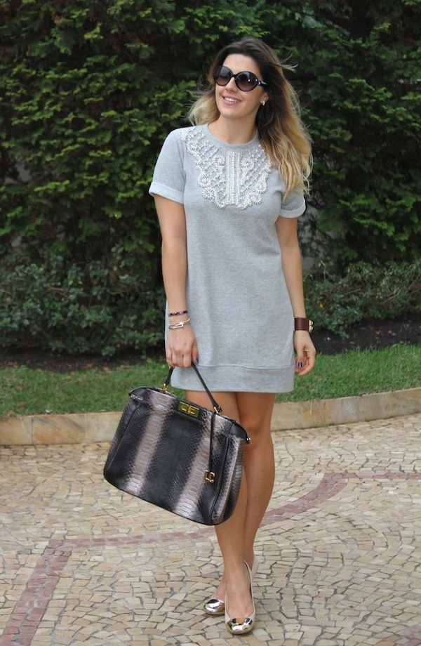 No Look: Vestido de moletom! | Keep a Secret                                                                                                                                                                                 Mais