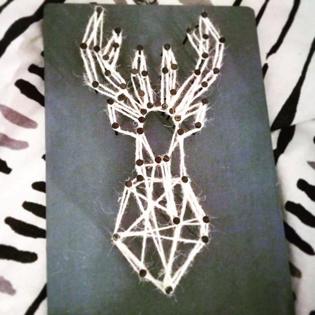 #diy #handmade #deer #handmadedecor #handmadedeer #decor #homedecor #instadecor #instadiy