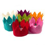 Wool Felt Crown from acme party box company