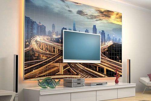 TV Ünitesi 3D Cam Mozaik TVR - 0239