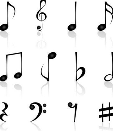 notas musical tattoo - Buscar con Google