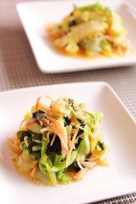 白菜とカニカマのさっぱり和え(酢のもの) by 簡単手抜きママ [クックパッド] 簡単おいしいみんなのレシピが258万品