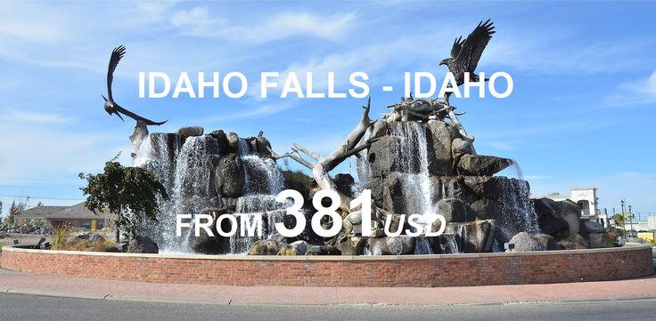 Thăm Idaho Falls -  thành phố lớn nhất nằm ở phía đông tiểu bang Idaho/ Visit Idaho Falls in Idaho. #america #usa #idaho