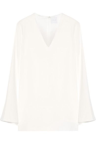 DION LEE Cape-Effect Stretch-Crepe Mini Dress. #dionlee #cloth #dresses