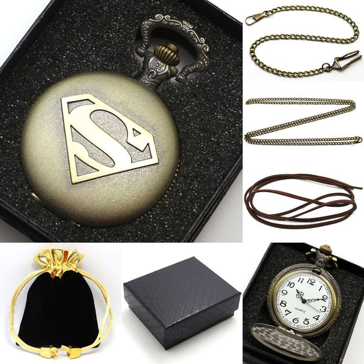$4.83 (Buy here: https://alitems.com/g/1e8d114494ebda23ff8b16525dc3e8/?i=5&ulp=https%3A%2F%2Fwww.aliexpress.com%2Fitem%2FConbays-Vintage-Superman-Hero-Boy-Pendant-Necklace-Pocket-Watch-with-Chain-Gift-Box-Bag%2F32333904022.html ) Vintage Superman Hero Boy Pendant Necklace Pocket Watch with Chain & Gift Box Bag for just $4.83