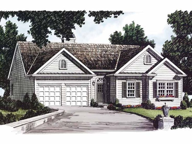Eplans cottage house plan perfectly petite layout 1085 for Eplans cottage house plan