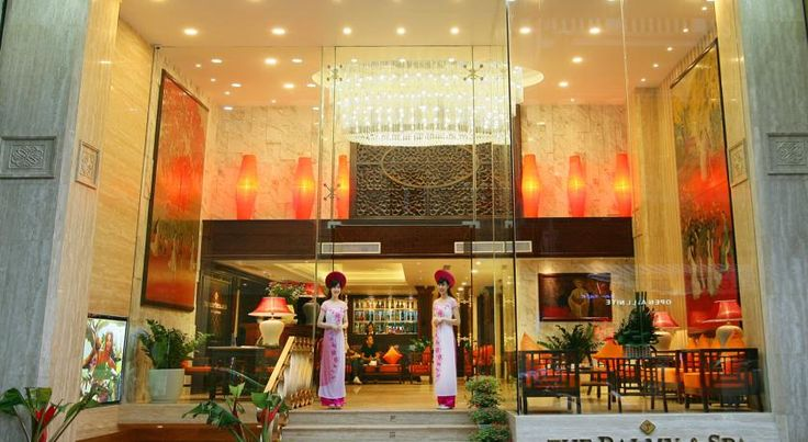 泊ってみたいホテル・HOTEL|ベトナム>ハノイ>ホアンキエム湖、ゴック・サン・テンプルまでわずか200m>ザ パーミー ホテル&スパ(The Palmy Hotel & Spa)