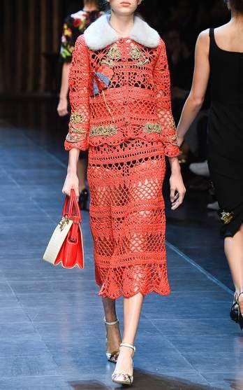 Dolce & Gabbana Spring Summer 2016 Look 24 on Moda Operandi