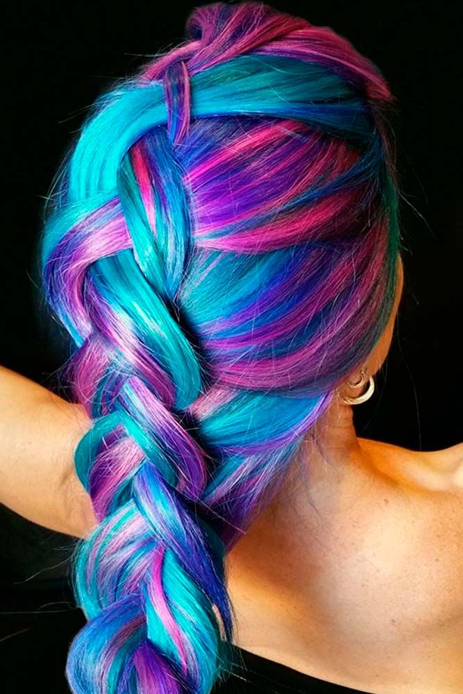 Best 25+ Purple hair styles ideas on Pinterest   Purple ...