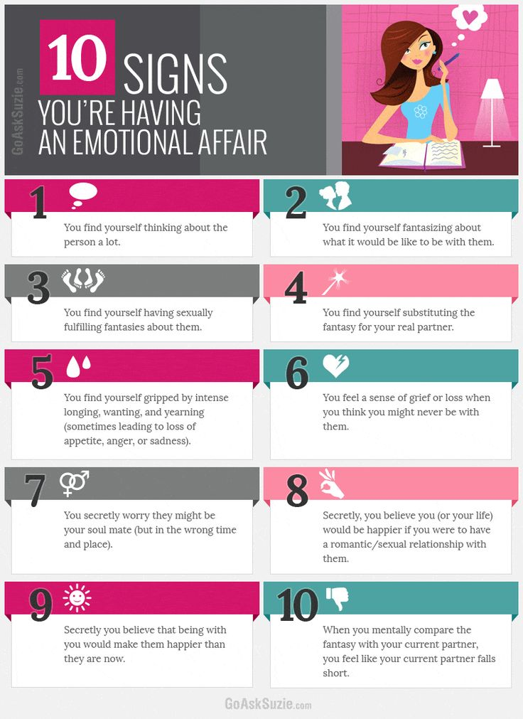 Emotional infidelity with co worker