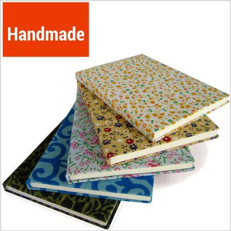 Handgefertigte Notizbücher und Tagebücher bei www.marketplace3000.org