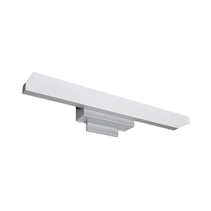Vonn Lighting Procyon 1-Light 4.81-in Satin Nickel Rectangle LED Vanity Light Bar