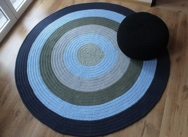 Dywan ze sznurka bawełnianego Blue Colours