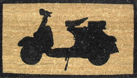 The Woo  Vespa Desenli Paspas : 19,90 TL | evmanya.com