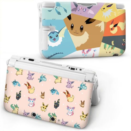Cartoon-pokemon-pikachu-zelda-Protective-Hard-Case-Cover-For-old-Nintendo-3DS-XL