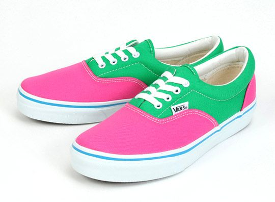 Bright Green Vans Shoes