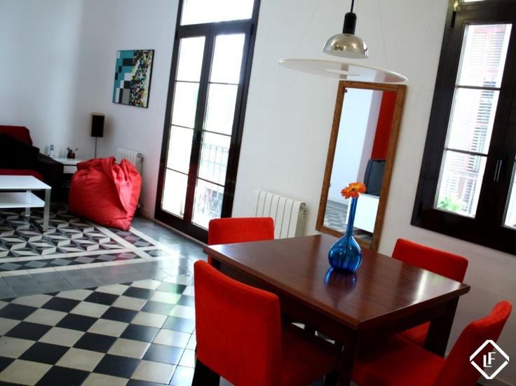 Appartement de deux chambres à louer à Ciutat Vella, Barcelone.