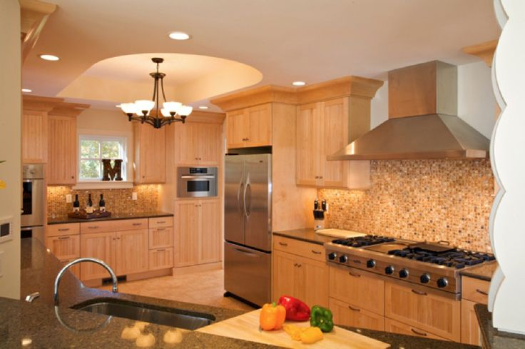 Light Maple Kitchen Cabinets Classic Kitchens And