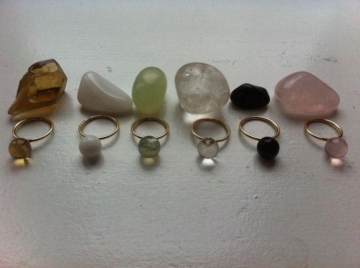Power gems. Big Drop Rings. Choose the gem that will strenghten you most, using your intuition. Love, manifestation, peace of mind, strenght, getting to know yourself better, spiritual connection.