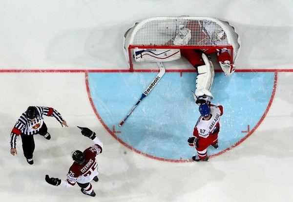 Alexander Salak Photos: Latvia v Czech Republic - 2015 IIHF Ice Hockey World Championship