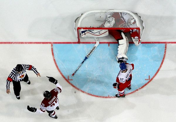 Alexander Salak Photos: Latvia v Czech Republic - 2015 IIHF Ice Hockey World Championship