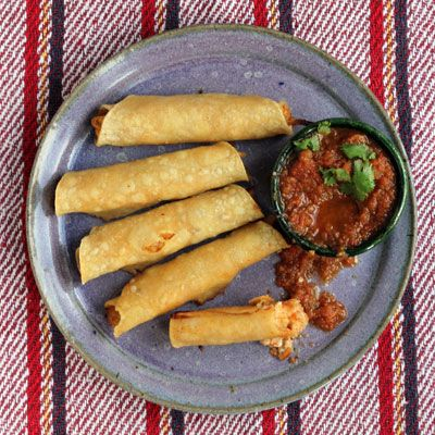 Chicken Flautas Recipe - Saveur.com
