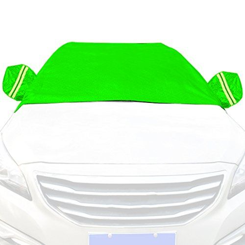 Car Snow Cover Snow Cover for Cars, SUV Snow Protectors Automotive Windshield Snow Covers Green