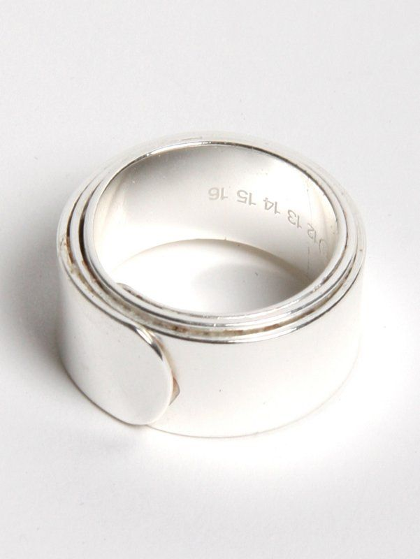 Martin Margiela Gun Metal Ring