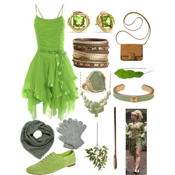 """""""Tinkerbell Once Upon A Time"""" by missnerd07 on Polyvore"""