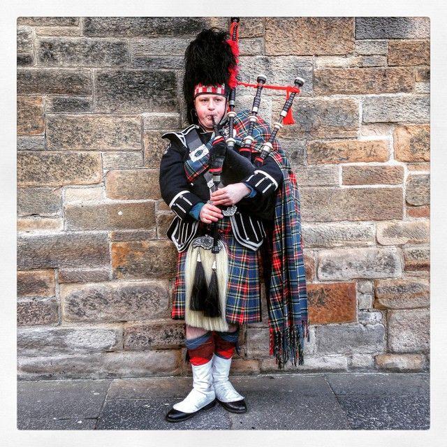 Joueur de cornemuse - Edimbourg