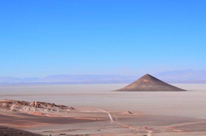 El Cono de Arita, en Salta