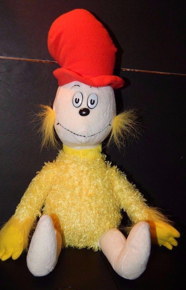 Kohl's Cares Dr Seuss Sam I Am Plush Stuffed Doll Red Hat Green Eggs Ham Soft  #KohlsCaresforKids