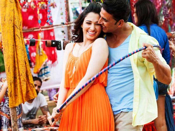 Akshay Kumar And Tamannah Bhatia: Akshay Kumar who is 46 years old is pairing up with Tamannaah Bhatia who is 24 years old in their upcoming movie Entertainment. A staggering 22 years age gap. | www.kkkiran.com