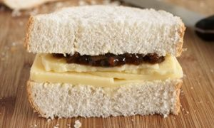 Love a cheese and pickle sarnie