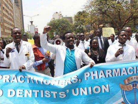 Nairobi doctors issue fresh strike notice over promotions - The Star Kenya