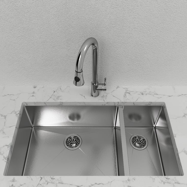 cantrio double bowl stainless steel undermount kitchen sink. Interior Design Ideas. Home Design Ideas