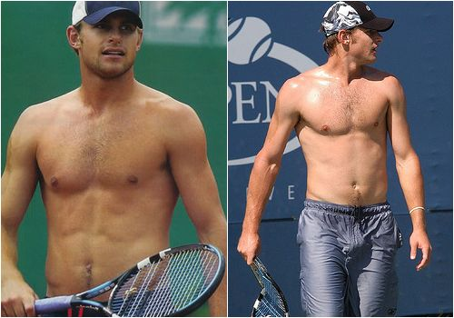 Andy Roddick Shirtless Sexy Tennis Player Hot Male