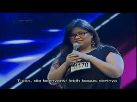 I love this girl..!! Super swing... Shena Malsiana - Kantoi ( Zee Avi ) : X Factor Indonesia ( Bootcamp )