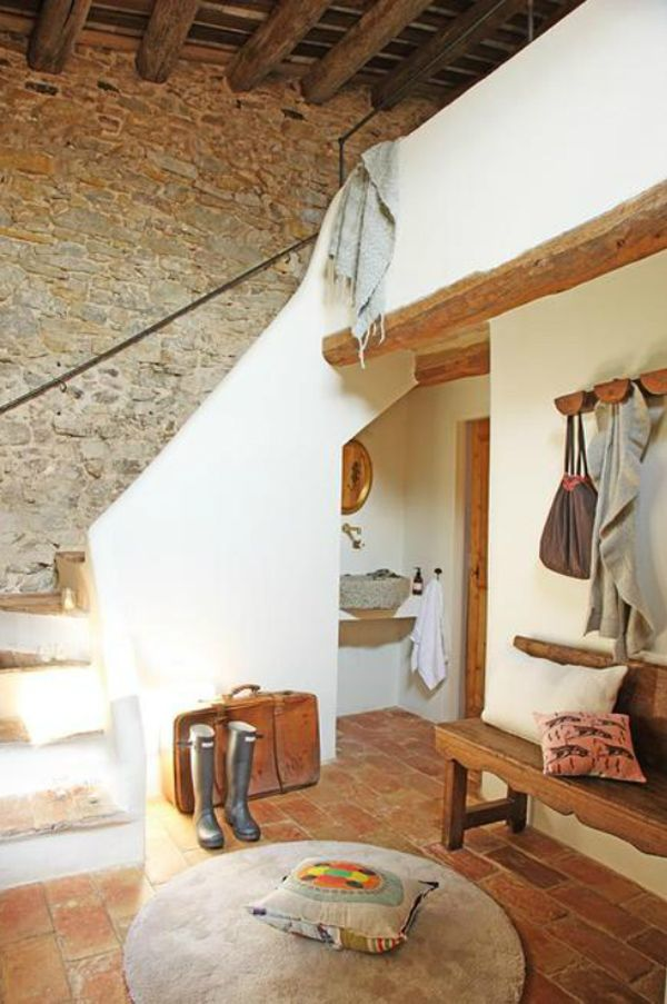 great mudroom  Girona Manor House
