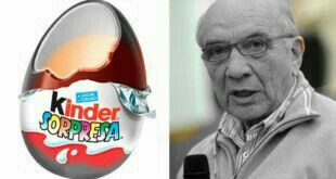 William Salice (18 July 1933 – 29 December 2016) was an Italian businessman. He was employed at Ferrero SpA, where he was credited as the inventor of Kinder Surprise Eggs.