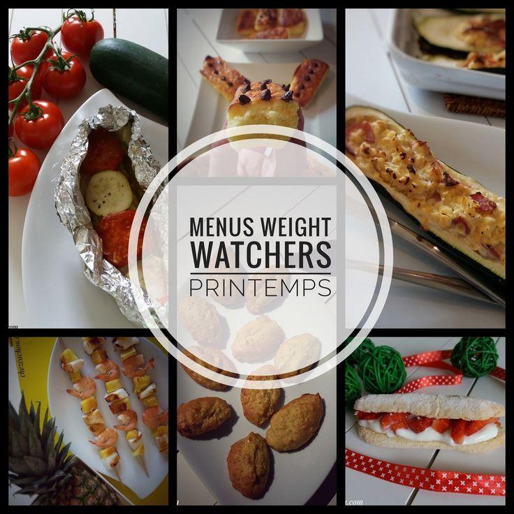 Idées menus Weight Watchers printemps – Arielle Kub
