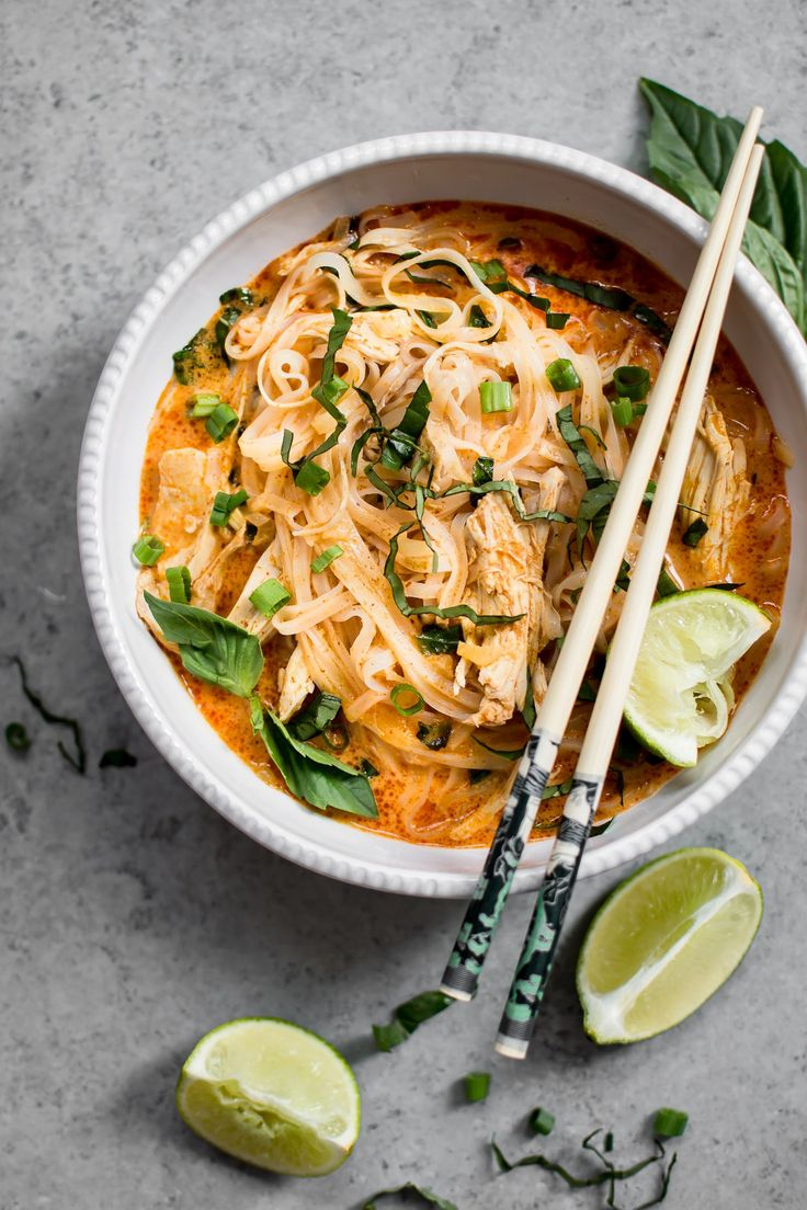 20 Minute Thai Chicken Curry Soup  bull  Salt  amp  Lavender This Thai chicken curry soup is quick easy comforting and full of fabulous flavor. A great way to use up leftover or rotisserie chicken!