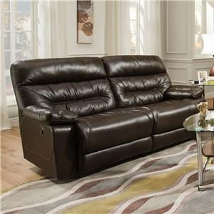 Franklin Domino Power Reclining Sofa (2 Seat)