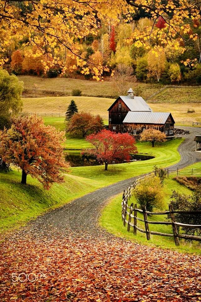 Autumn Scenery Fall Pictures Landscape Photography