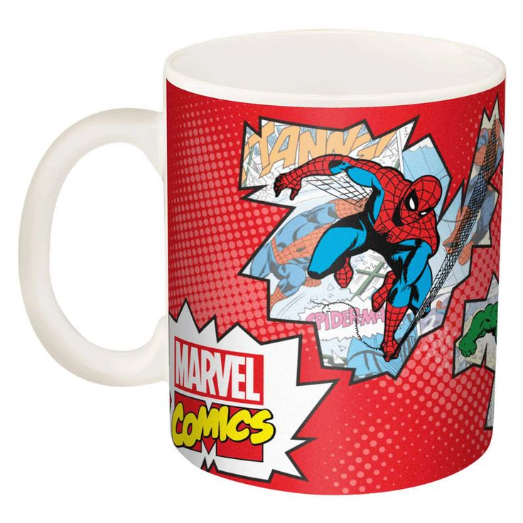 super hero ceramic coffee mug 11 oz