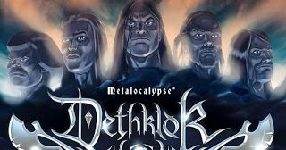 """Dethklok Creator Says Adult Swim Gave Him """"Hard No"""" On Reviving Metalocalypse   Last year Dethklok/Metalocalypse fans had been campaigning for one final season of the show. Back in April the show's television home Adult Swim launched a petition tomake Adult Swim sign the petition to bring back Metaloclypse as well as a a live video feed of the official fax machine with all entries going directly into a recycling bin. In essence the joke was indicative of how seriously Adult Swim took the…"""