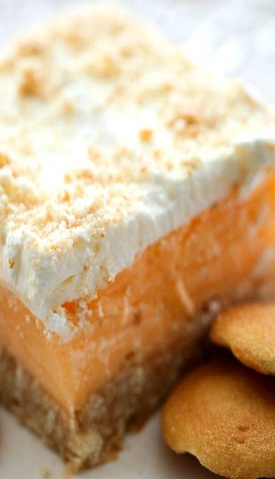 Orange Sherbet Dessert
