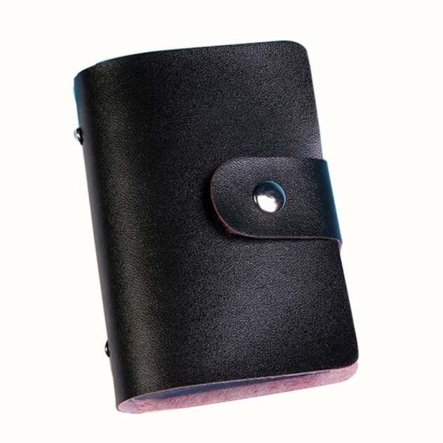 スプレンディッド人工革ユニセックス男性女性革クレジットカードホルダーケースカードホルダー財布ビジネスカード