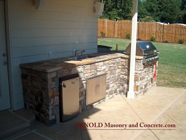 Atlanta outdoor grill luxury outdoor kitchen luxury outdoor kitchen #luxury #outdoor_kitchen